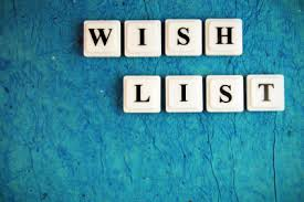 my wish list an early christmas wish list