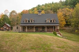 Rustic Barn Homes Rustic Barn Homes Exterior Farmhouse With Open Floor Plan
