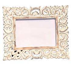 buy 5x7 inches white shabby chic picture frame in bulk wholesale