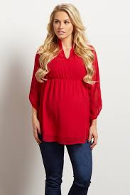 flowy blouses flowy chiffon maternity blouse