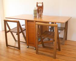 Gateleg Dining Table And Chairs Mid Century Modern Gateleg Dining Table Chairs Picked Vintage