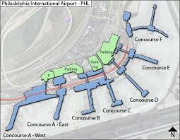 philadelphia international airport map phl bright evolutions