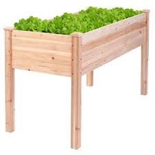 raised planter box free shipping today overstock com 15397421