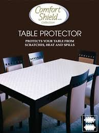 Table Pads For Dining Room Tables Mesmerizing Gorgeous Dining Table Protector All Room On Protective
