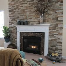 Concrete For Fireplace by Best 25 Faux Stone Fireplaces Ideas On Pinterest Diy Exterior