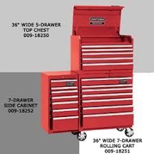 craftsman tool box side cabinet auto body toolmart craftsman industrial 7000 series 36 wide top