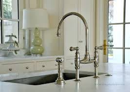bridge faucets kitchen bridge kitchen faucet with pull spray snaphaven