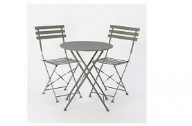 Grey Bistro Table 10 Easy Pieces Outdoor Bistro Tables For Two With Chairs