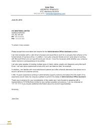 administrative coordinator cover letter resume letter idea 2018