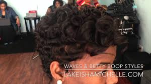 black hair styles in detroit michigan short hair cuts waves texture betty boop los angeles dallas