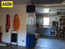 garage divider curtains akon u2013 curtain and dividers