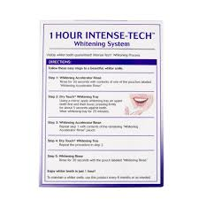 Cost Of Teeth Whitening Equate Beauty 1 Hour Intense Tech Whitening System Walmart Com