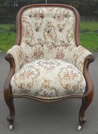 Victorian Armchairs Victorian Mahogany Spoonback Fireside Armchair 252820