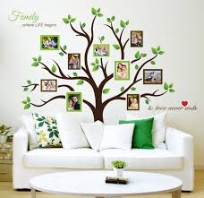 family tree photo frames wall decal self adhesive stickers home family tree photo frames wall decal self adhesive stickers home wall art decor