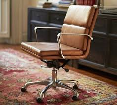 Leather Office Desk Chair Nash Swivel Desk Chair Leather Caramel Desks Leather And Room