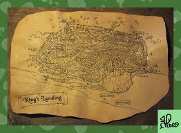 leather map king s landing leather map by alteolab on deviantart