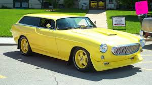 volvo locations is a yellow chopped top volvo 1800es custom a lemon
