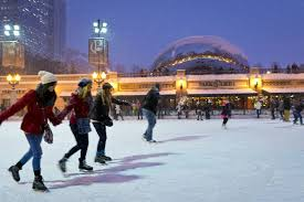 how to skate in millennium park