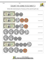 thanksgiving worksheets for 2nd grade 2nd grade money worksheets up to 2