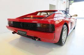 ferrari testarossa 1988 ferrari testarossa classic throttle shop