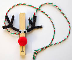 Reindeer Decoration How To Make A Reindeer Peg Christmas Decoration Eden Project