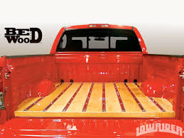 wooden truck bed lowrider parts and accessories bedwood retroliner lowrider