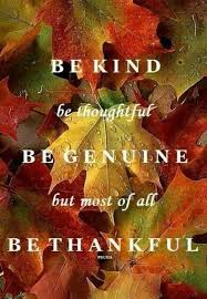 be be thoughtful be genuine but most of all be