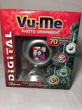 vu me digital photo ornament ebay