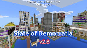 Mpce Maps City Of Democratia V2 8 Mcpe City Map Over 6000 Downloads