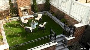 small courtyard landscaping ideas