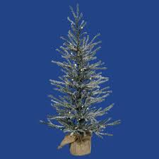 2 u0027 frosted angel pine artificial christmas tree unlit