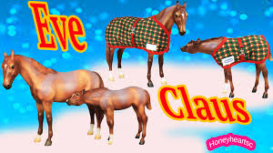 breyer holiday christmas eve and claus traditional horses limited