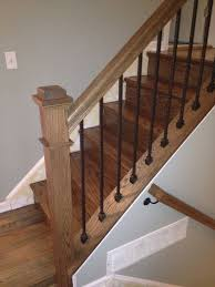 Metal Stair Banister Best 25 Iron Stair Railing Ideas On Pinterest Wrought Iron