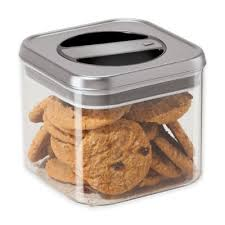buy airtight stainless steel canisters kitchen from bed bath u0026 beyond