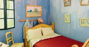 chambre gogh il est maintenant possible de dormir dans un tableau de gogh