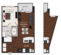 elan med center has 1 and 2 bedroom luxury apartments with street