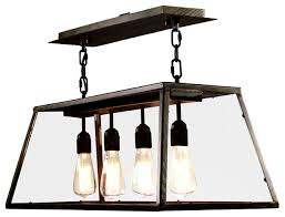 Black Kitchen Light Fixtures Enchanting Island Lighting Ware House Of Edison