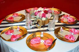 Baby Shower Table - kate spade inspired baby shower baby shower ideas themes games