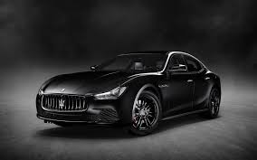galaxy maserati 2018 maserati ghibli nerissimo black edition 4k wallpapers hd