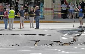 sinkhole develops in winter haven publix parking lot news the