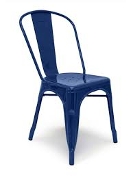 Navy Bistro Chairs Metal Bistro Chair Navy Cottage Home