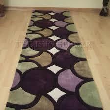 Purple Runner Rugs Harlequin Hallway Runners Ha10 006 Purple Green Buy O