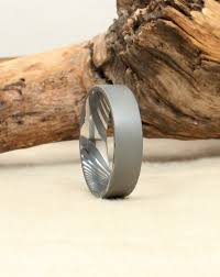 damascus steel wedding band sandblasted damascus steel ring wedgewood rings
