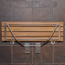 Folding Bracket For Tables And Benches Bathroom Design Interesting Teak Shower Bench With Stylish Design