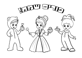 purim puppets top 10 free purim coloring pages to print