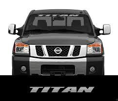 jeep windshield stickers product titan nissan front windshield window banner decal sticker