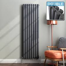 Designer Kitchen Radiators Vertical Designer Radiator Central Heating Double Oval Column