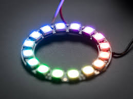 Halloween Costume With Lights by Neopixel Ring 16 X 5050 Rgb Led With Integrated Drivers Id 1463
