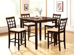 furniture pretty square counter height dining room table set