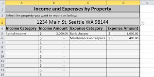 Trucking Expenses Spreadsheet by Free Expense Tracking Spreadsheet For Your Rentals We Ve Updated